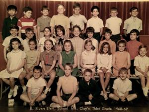 Mrs. Clay Third Grade E. Rivers